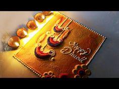Diwali special rangoli | Diya rangoli design | Attractive Diwali rangoli | Happy Diwali rangoli - YouTube Easy Rangoli Designs Videos, Rangoli Designs Simple Diwali, Happy Diwali Rangoli, Simple Rangoli Border Designs, Diya Rangoli, Rangoli Designs Latest, Rangoli Designs Flower, Free Hand Rangoli Design, Small Rangoli Design