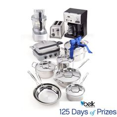 Enter now for your chance to win a Cuisinart kitchen giveaway. #belk125