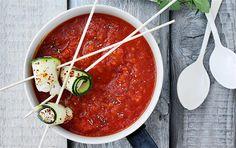 Smoky tomatsuppe
