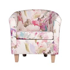 Floral Bloom Tub Chair | Dunelm