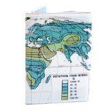 World Map Passport Holders