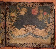 Pair fine Qing dynasty Kesi Mandarin square rank badge backgrounds is among 58 lots in our November Asian art auction closing today, Wednesday, 11/13/13, from 5PM EST including Chinese, Japanese, Southeast Asian and other works of art at http://www.vervendi.com