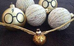 Decoração de Natal - Harry Potter