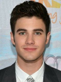 A morph of Darren and Chris......weird!   #Glee