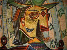"metropolitan museum of art paintings | The Metropolitan Museum of Art - Picasso: ""Dora Maar in an Armchair"""
