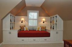 playroom/attic built-ins