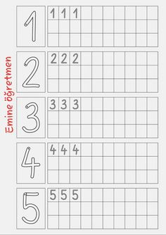 Vorschule Deutsch Kindergarten – Rebel Without Applause Preschool Writing, Numbers Preschool, Kindergarten Math Worksheets, Worksheets For Kids, Preschool Activities, Number Worksheets, Montessori Math, Handwriting Worksheets, Writing Numbers