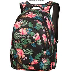 floral dakine backpack