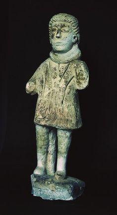 Gaulois vêtu d'une tunique