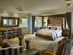 Sophisticated Animal Print --> http://www.hgtv.com/bedrooms/stylish-sexy-bedrooms/pictures/page-11.html?soc=pinterest