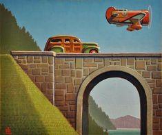"""""""Flyer"""" - Original Fine Art for Sale - © Robert Laduke"""