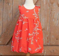 INSTANT DOWNLOAD Girls Dress Pattern PDF Girls Bubble Dress Pattern - SIze 12 Month to 5 Years
