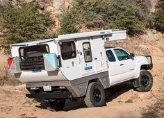 FLEET FLAT BED MODEL - Four Wheel Campers | Low Profile, Light Weight, Pop-up…