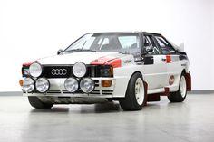Bonhams : Ex-works, Hannu Mikkola/Arne Hertz,1982 Audi Quattro A1 Group B Rally Car