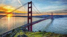 San Francisco is home to a little bit of everything. Whether you're a first time visitor or a long-time local, San Francisco's Golden Gates welcome all. This is the place to find out about all things San Francisco. Lombard Street, Wallpaper California, Golden Gate Bridge Wallpaper, Ponte Golden Gate, San Francisco Wallpaper, Places To Travel, Places To See, San Francisco Bridge, Tropical Fish