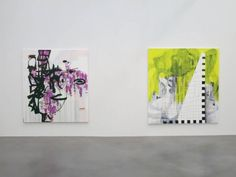 Charline von Heyl  Installation view Petzel Gallery, New York  September 6 - October 5, 2013 © Charline von Heyl - Photo: all rights reserved Courtesy of the artist and Petzel, New York