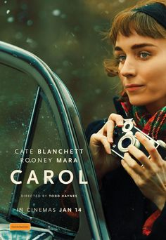 Carol - 2016 Golden Globe Nominee for Best Motion Picture, Drama