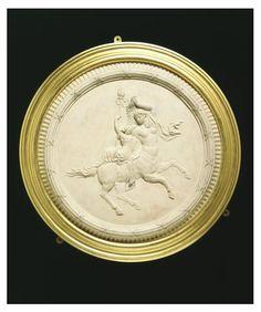 Medallion | A Female centaur and bacchante ca. 1772. Etruria, England (made). © V&A Images