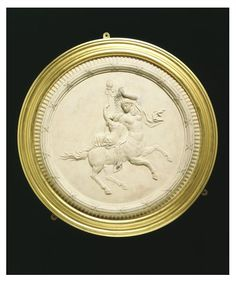 Medallion | A Female centaur and bacchante ca. 1772. Etruria, England (made). © V&A Images
