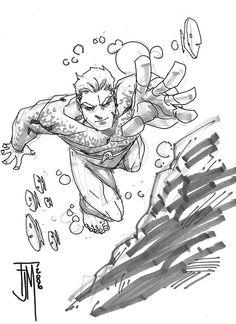 Aquaman by Francis Manapul 2006