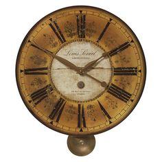 Uttermost Louis Leniel Wall Clock - 20W in. - 06034