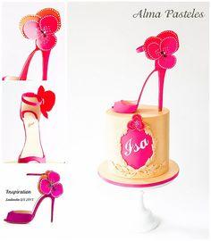 Louboutin shoe cake | von Pasteleria Alma