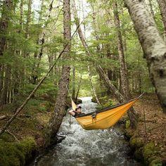 The Benefits of Hammock Camping #campinghammock