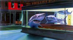 Ron English's Sharks Bar