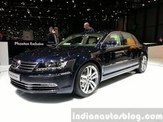 VW Phaeton Exclusive Edition  at 2015 Geneva Motor Show