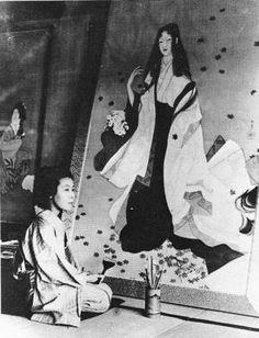 ※2016/8/2 追記: 上村 松園の写真を新たに3枚追加しました。上村 松園(うえむら しょうえん)は明治時代〜昭和時代に活躍した日本画家で、女性として初めて文化勲章を受賞した画家です。[insert_post id=26787]美人画…