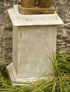 Attrayant Vendi Outdoor Garden Pedestal For Urn, Planter Or Sculpture Available At  AllSculptures.com Garden
