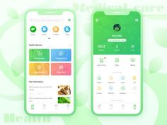 Medical Care App designed by keii for BestDream. Connect with them on Dribbble; Graphisches Design, Web Ui Design, Dashboard Design, Flat Design, Design Layouts, Icon Design, Interior Design, Mobile Application Design, Mobile App Design