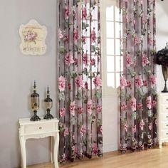 Romantic-Floral-Tulle-Voile-Door-Window-Curtain-Drape-Panel-Scarf-Valances-039