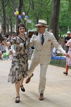 On Governors Island for the Jazz Age Lawn Party.