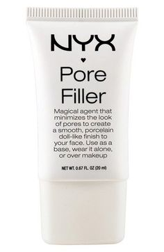 Since I have acne, my pores are a lot bigger than most people's so when foundation is put on, it looks HORRIBLE and makes the pores so noticable. A poor filler smooths out skin to prevent that. Drug store brands can be bought at Walmart.