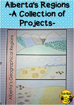 Teach students about Alberta's geographical regions with this set of lessons and a variety projects. There are lots of ways to use this one! Social Studies Projects, 4th Grade Social Studies, Social Studies Activities, Teaching Social Studies, Research Projects, Teaching Kids, Teaching Resources, Classroom Jobs, Future Classroom