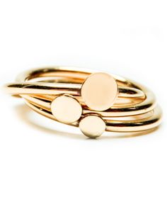 Stacking Dots Ring / Leif