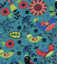 New Colorful Birds collection Sold per fat Quarters for Quilting, Crafting,Decorating,creating ,stunning Jewelry as well Home Decor Accents by tambocollection on Etsy