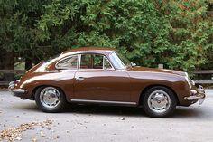 Brown Porsche 356