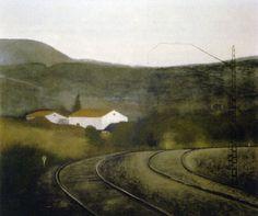 Railroad   -     Gustavo de Maeztu  Spanish 1887-1947