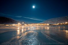 Pangnirtung, Nunavut, Canada. I like ice and locals. I hope to find both here!