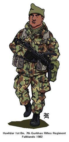 British Gurkha Falklands war by darthpandanl on DeviantArt