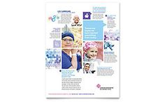 Cancer Treatment Flyer - Word Template & Publisher Template