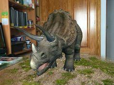 Dinosaurios con RA
