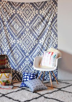 Holli Zollinger Shakami Denim Tapestry | DENY Designs Home Accessories