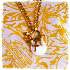 dwallacedesigns •cross charm necklace