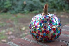 Sequin Pumpkins and other fun Halloween crafts for kids!