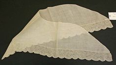 Kerchief Date: early 18th century Culture: Flemish Medium: [no medium available]…
