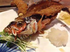 Local fish, Gurukun, in Okinawa