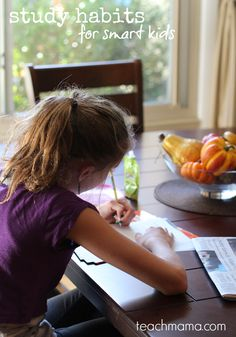 raising strong students: study habits for smart kids   teachmama.com  collaboration with @neatoday